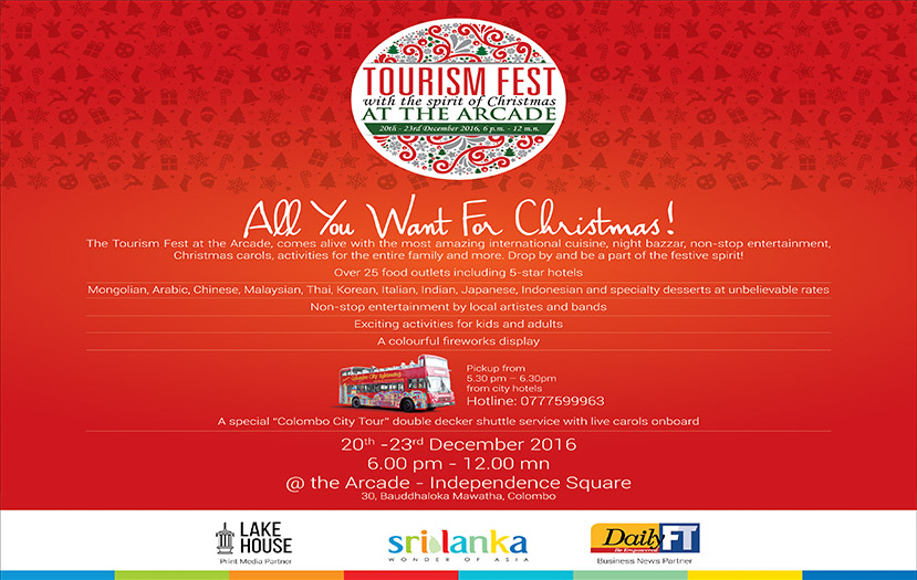 Tourism Fest To Dazzle Colombo