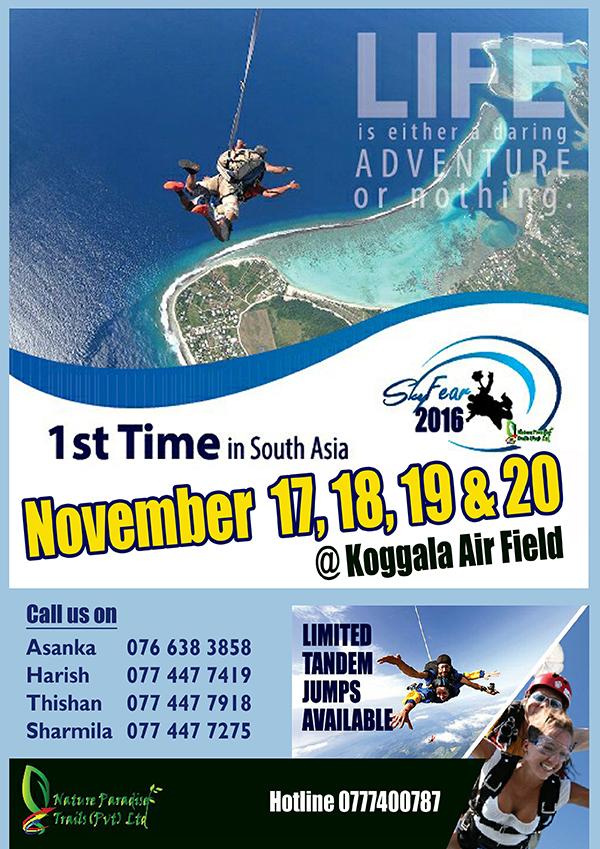 Tandem Skydiving Festival
