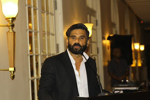 Legedary actor/ producer Mr. Sunil Shetty from India