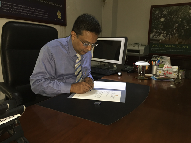 Mr. Sutheash Balasubramaniam takes over as new MD of SLTPB