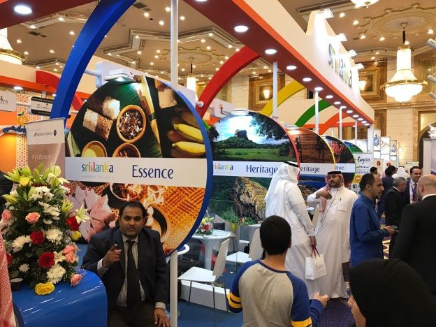 Sri Lanka wows the Mediterranean again at the Jeddah International Travel and Tourism Exhibition