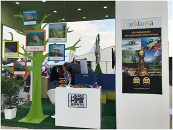 Sri Lanka's participation at the Winter Festival draws attention as an excellent family destination