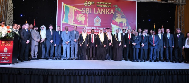 Sri Lanka Consulate General in Dubai celebrates 69th Anniversary