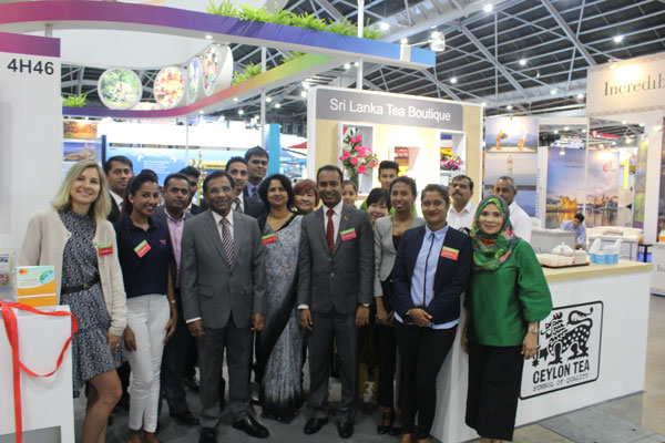 Sri Lanka strengthens its industrial ties with Singapore at NATA's Travel Fair 2018