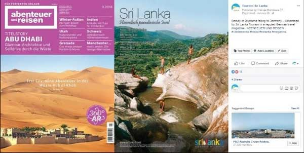 Sri Lanka Tourism carrying out multi-platform global campaigns