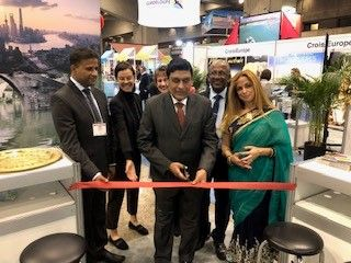Sri Lanka promotes tourism at the International Tourism and Travel Show in Montreal