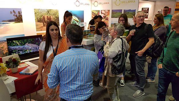 Sri lanka promotes tourism at the international book fair in frankfurt