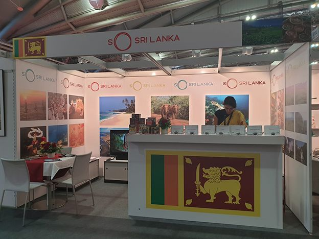 Sri lanka promotes tourism at the international book fair in frankfurt
