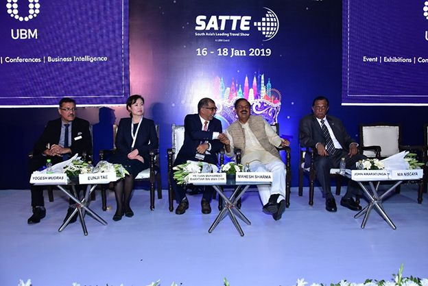 Sri Lanka makes a successful participation at SATTE 2019