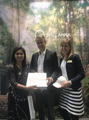 Sri Lanka shows its prestige at the CMT Germany