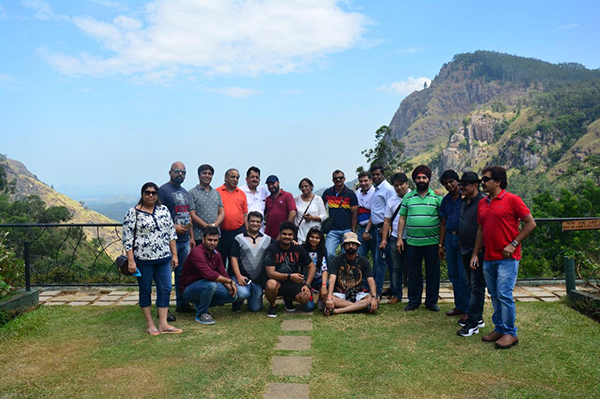 FAM Tour organized by SLTPB