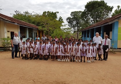 Sri Lanka Tourism brings all smiles to a rural school in Habarana
