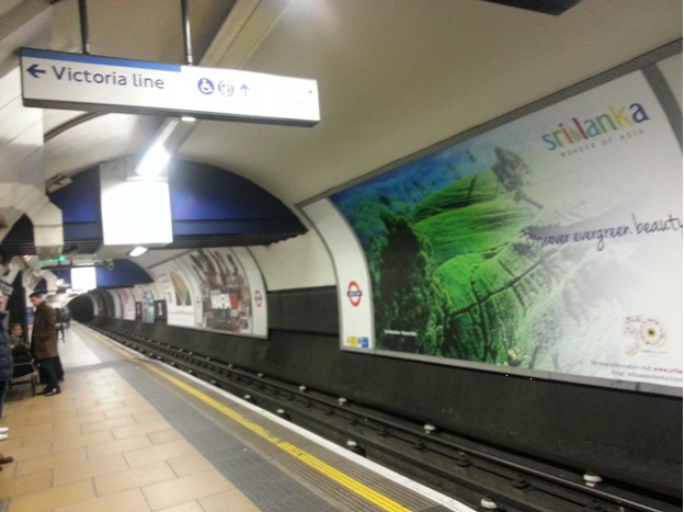campaign in UK Train Stations