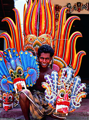 Sri Lanka to shows prestige in crafts work in India